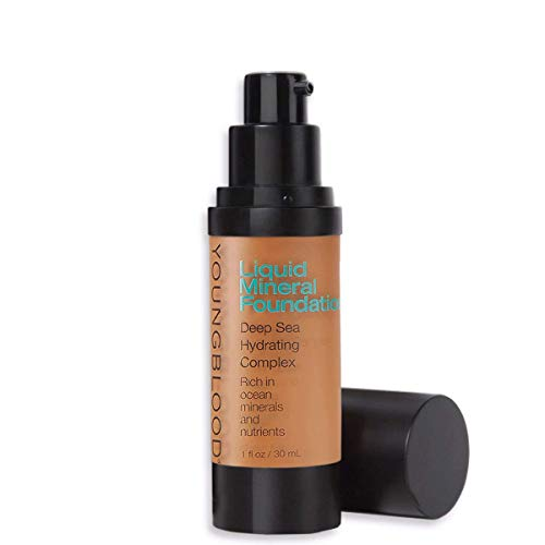 - Youngblood Mineral Cosmetics Natural Liquid Mineral Foundation - 30 ml / 1 fl. oz. (Chestnut)