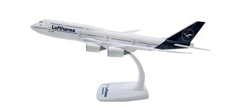 HERPA 611930 Lufthansa Boeing 747-8 Intercontinental-New 2018 Colors  Aircraft Model Kit, Multi-Colour