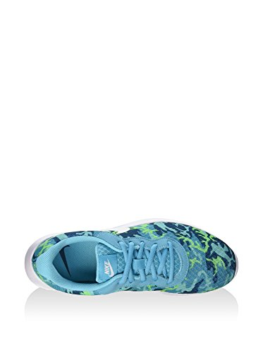 De Wmns White Para Tanjun Grn grn Azul Print Deporte Zapatillas ghst Bl Nike Abys gmm Mujer IA1wqd1