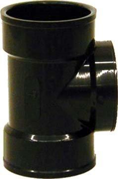 "Genova Products 81421 Genova Dwv Pipe Test Tee, 2 Hub X Fip, SCH 40, Abs, 2"""