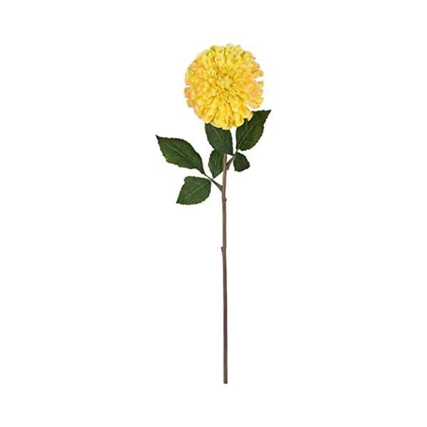 Vickerman-521960-24-Yellow-Zinnia-Stem-3Pk-FQ180604-Home-Office-Flowers-with-Stems