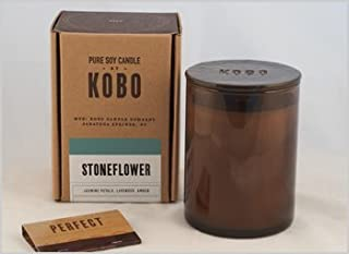 product image for Stoneflower Kobo Soy Candle From The Woodblock Collection