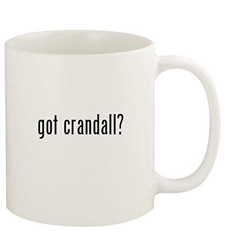 got crandall? - 11oz Ceramic White Coffee Mug Cup, White (Whistling Past The Graveyard By Susan Crandall)
