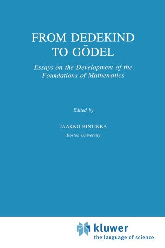 From Dedekind to Gödel: Essays on the Development