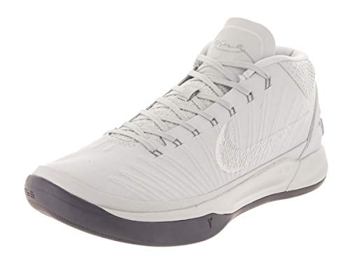 Nike Men's Kobe AD Pure Platinum/White Basketball Shoe 11 Men - Men Basketball Shoes Kobe