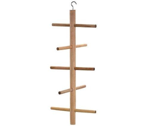 Karlie climbing frame wooden ladder to climb for birds