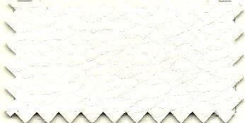 Ponti Divani Fodera Rivestimento Trapuntato con Balza e Laccetti per Pouf Letto singolo75,5x75,5 h 43cm Ecopelle Bianca