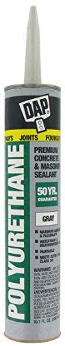 (Dap 18814 12 Pack 10.1 oz. Premium Polyurethane Construction Adhesive Sealant, Gray)