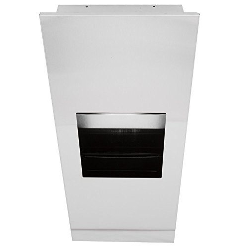 Bobrick B-36903 TrimLineSeries Recessed Paper Towel Dispenser / Waste Receptacle by Bobrick