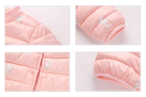 Baby Winter Baby Unisex Puffer Outwear Blue Girl Boy Light Jacket Toddler Fairy Cotton Warm Aqwdd