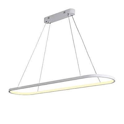 Creative Modern Thin LED Pendant Lights Kitchen Suspension Hanging Ceiling Lamp Dinning Room Lamparas Colgantes