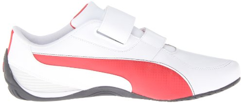 Puma Mens Drift Cat 5 Ferrari Ac Nm Motorsport Shoe Bianco / Rosso Corsa