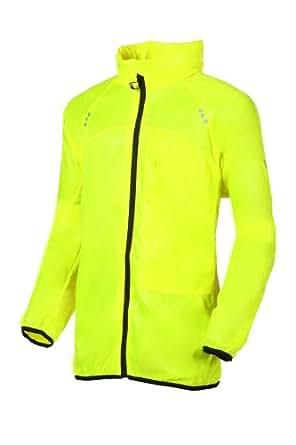 Mac para correr in a Sac ActiveLite ligero/chaqueta de ciclismo (XS, amarillo fluorescente)