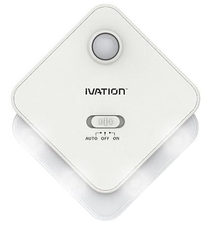 Sensor de movimiento y de luz - BLANCO - limentado por