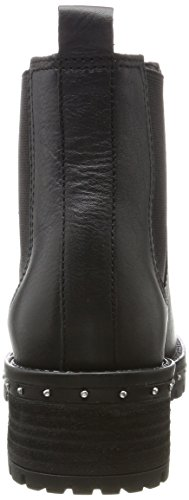 Bnew Noir Noir BX Bronx Black Falkox 1417 01 Chelsea Boots Femme x4dE8p0w8q