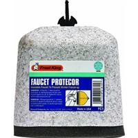 Frost King FC1 Outdoor Foam Faucet Cover, Oval (Everyday Bib)