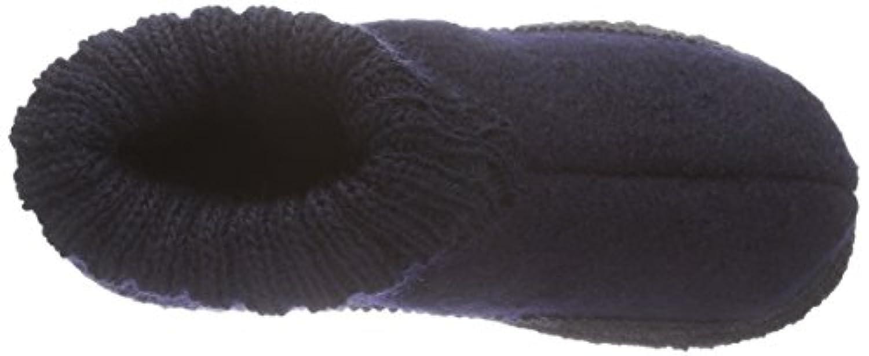 Kitz - Pichler Ötz, Unisex Kids' Hi-Top Slippers, Blue (nachtblau 1229), 6 Child UK (24 EU)