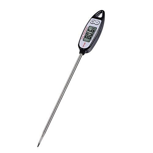 0.9\ Digital LCD Food Probe Thermometer -50~300'C/1*LR44