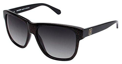 Balmain 2016 Sunglasses - Frame GOLD GLITTER, Lens Color Grey Gradient
