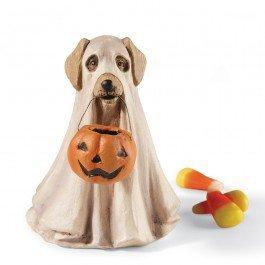 Bethany Lowe Spooky Ghost Dog Halloween Figurine -