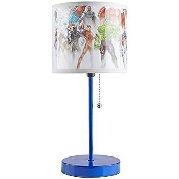 Marvel Avengers Stick Lamp, Blue