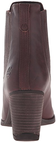 Dark Full Atlantic Women's Brown Grain Covered Chelsea Heights Timberland Gore Boot S0fxqfBw