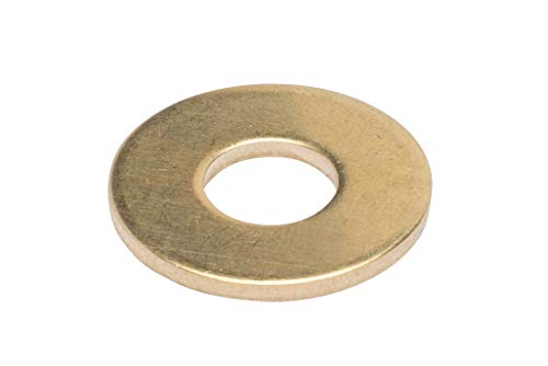 Solid Brass Washer - 3/8