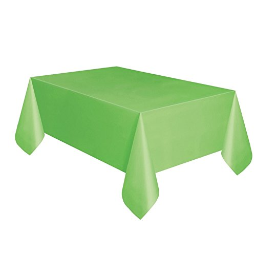 Lime Green Plastic Tablecloth, 108
