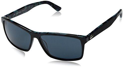 Lacoste Men's L705s Rectangular Sunglasses, Blue/Camouflage, 57 - Lacoste Price Sunglasses
