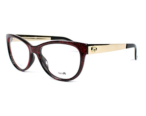 Optical frame Gucci Optyl Glitter Red - Gold (GG 3742/N VK5) by Gucci