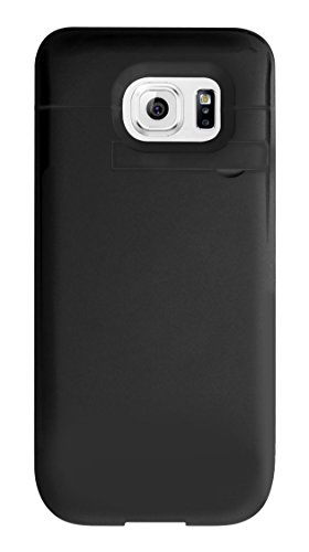 Cellet 3200 mAh Rechargeable External Battery Case for Samsung Galaxy S6 Edge, Black