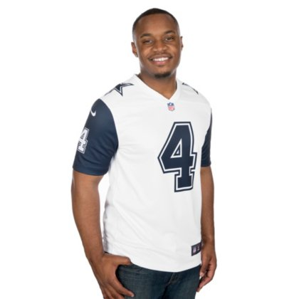free shipping 65cd9 6c302 Dallas Cowboys Dak Prescott #4 Nike XC2 Color Rush Tee