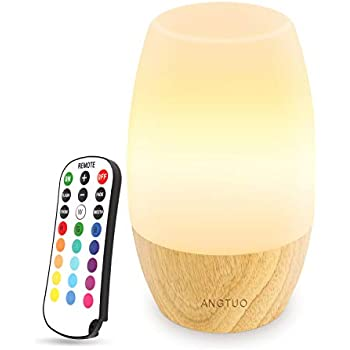 Amazon Com Rtsu Bedside Lamp Dimmable Touch Tap Light