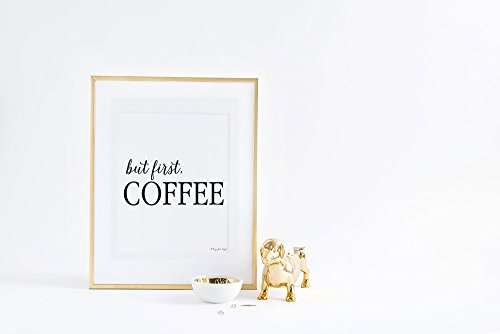 But First Diet Coke Gold Art Print, Office Decor Wall Artwork, Motivational, Fashion Art, Coffee Sign Print, Home, Kitchen Typography, Quote Gift for Her