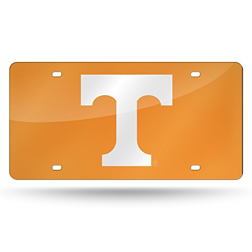 (NCAA Tennessee Volunteers Laser Inlaid Metal License Plate Tag)