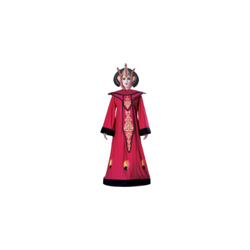 Deluxe Queen Amidala Adult Costume - Standard (Haloween Costume Ideas For Couples)
