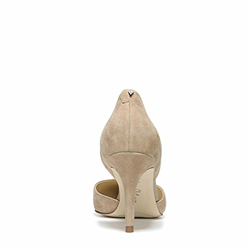 Cuero Mujer Tacón Avena Gamuza Edelman Sam Cabrito Zapatos Para De Telsa PYwx0