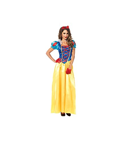 Leg Avenue Women's 2 Piece Classic Snow White Costume, Multicolor, Large
