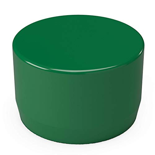 (FORMUFIT F001EEC-GR-10 PVC External End Cap, Furniture Grade, 1