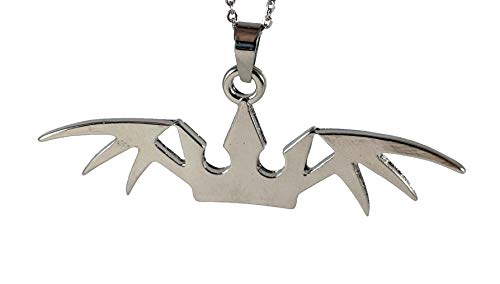 SixOn Clothing Kingdom Hearts Halloween Town Crown Pendant Necklace