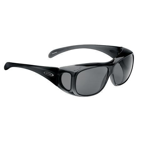 ALPINA Radsportbrille Overview MT, schwarz transparent, A8354-335