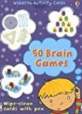 img - for 50 Brain Games (Activity Cards) book / textbook / text book