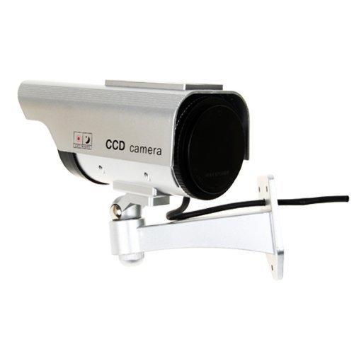 Value-5-Star - COTS-4 X CCTV TELECAMERA FINTA DUMMY OUTDOOR DA SORVEGLIANZA PROFESSIONALE VIDEO CAMERA WIRELESS,LED NEGOZIO OUTDOOR/INDOOR by Value-5-Star (Image #1)