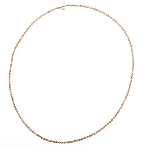 Collier - NKG-K10079 - Femme - Or Jaune 375/1000 (9 Cts) 4.7 Gr