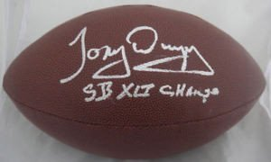 Tony Dungy Sb Xli Champ Signed Wilson NFL Football JSA - Authentic Signed Autograph (Dungy Sb Tony)