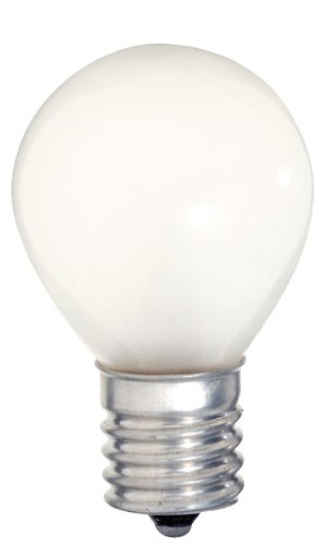 Satco S3622 115/125V Intermediate Base 10-Watt S11/N Light Bulb, Frosted