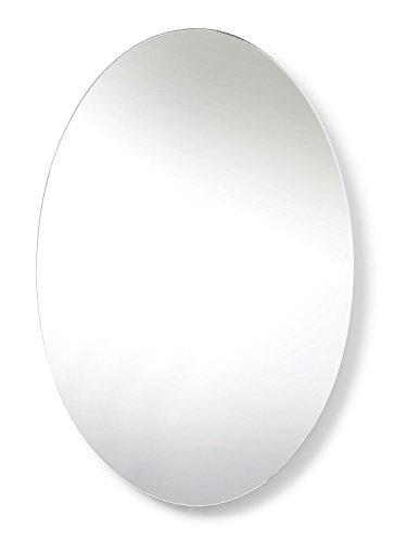 LaBrinx Designs Remote Control Light Up Portal Mirror - Oval Wall Mirror