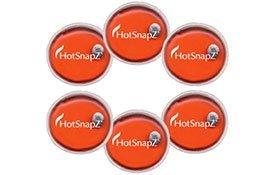 HotSnapZ reutilizable 10,16 cm calentadores de mano