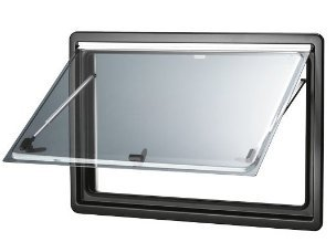 DOMETIC 204/066 S4 - Ventana de repuesto para autocaravanas (718x332mm), color gris