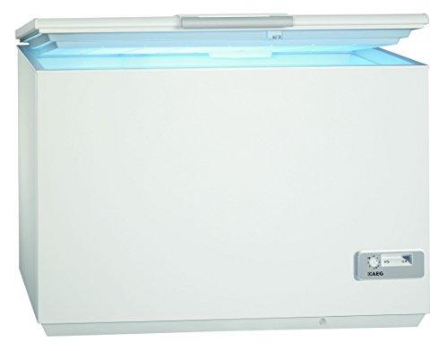 AEG ARCTIS A92300HLW0 Gefriertruhe / A+++ / 87,60 cm Höhe / 122 kWh/ Jahr / 223 L Gefrierteil / Innenbeleuchtung / LowFrost-Technik / weiß